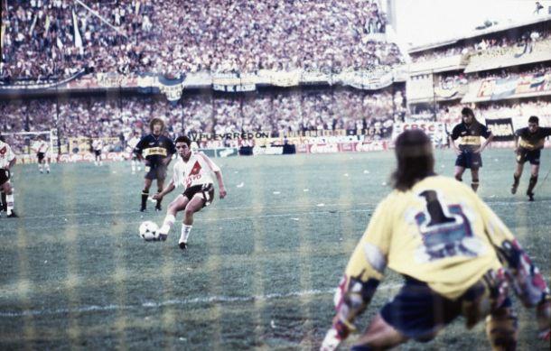 El debut goleador del Muñeco