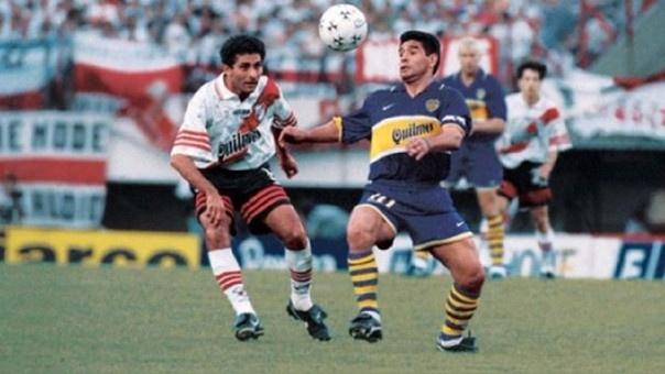 Último partido de Maradona