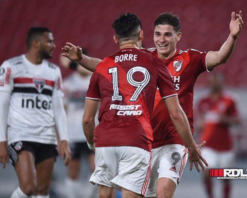 Fotos: River Plate vs San Pablo (Vuelta - Copa Libertadores 2020)